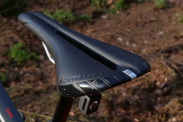 The saddle on the Trek 1120 is a hard one and not comfy enough for touring.